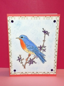 Martha Stewart bird stamps
