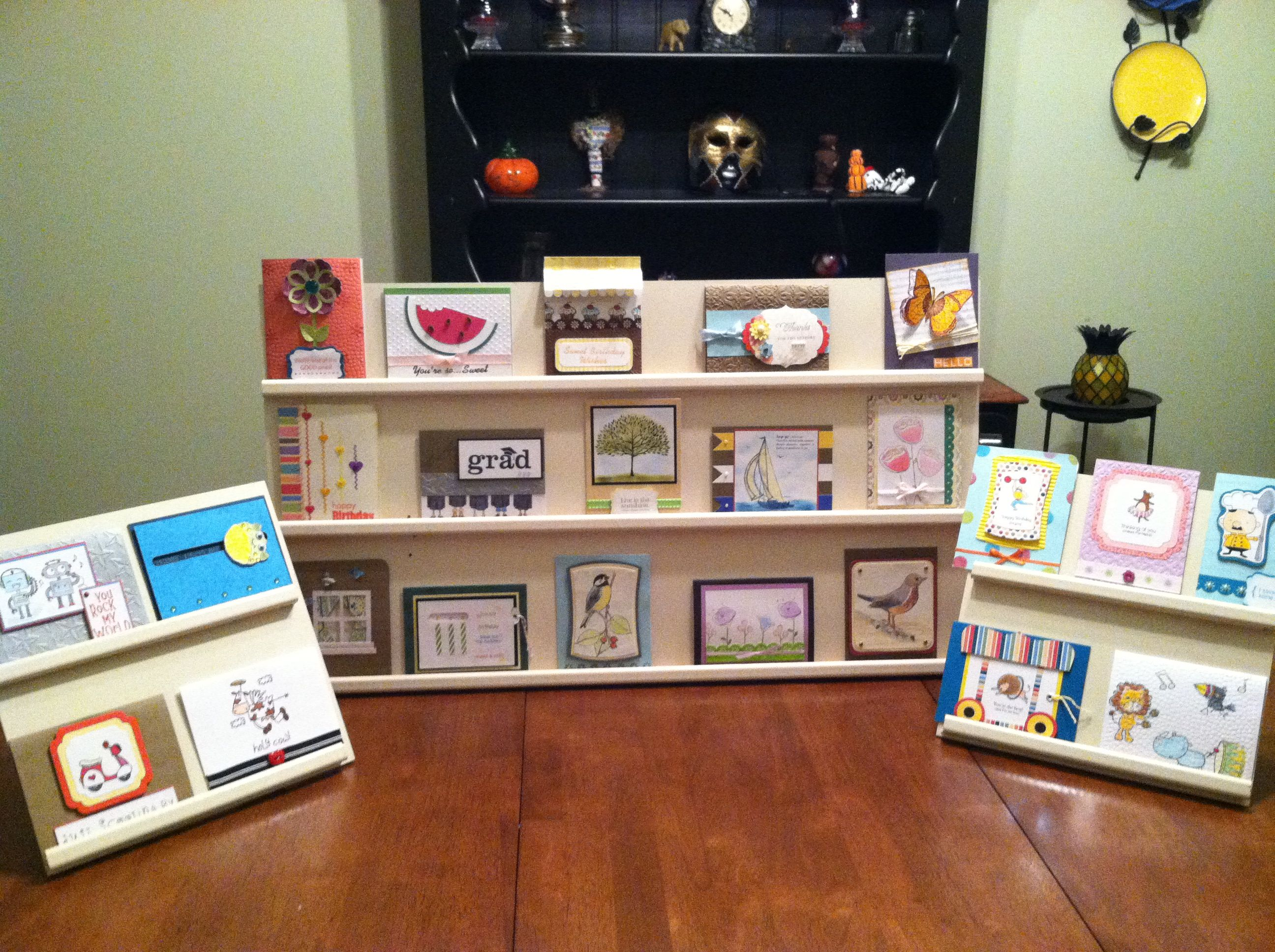 Greeting card display cardsbymo the m4hsunfo