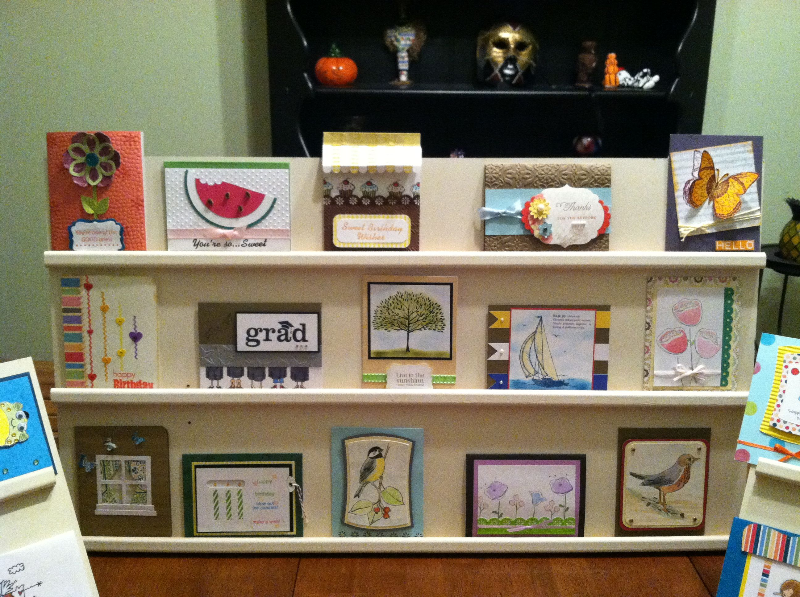 Greeting card display cardsbymo the m4hsunfo Images