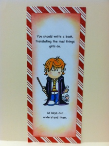 Ron Weasley bookmark