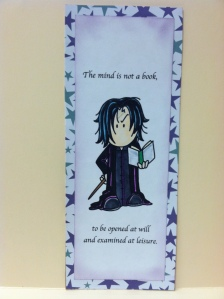 Severus Snape Bookmark