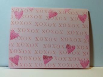 Valentine's Day cardstock