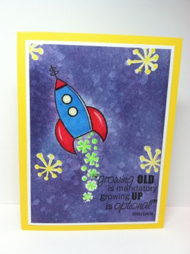 rockets and rayguns card