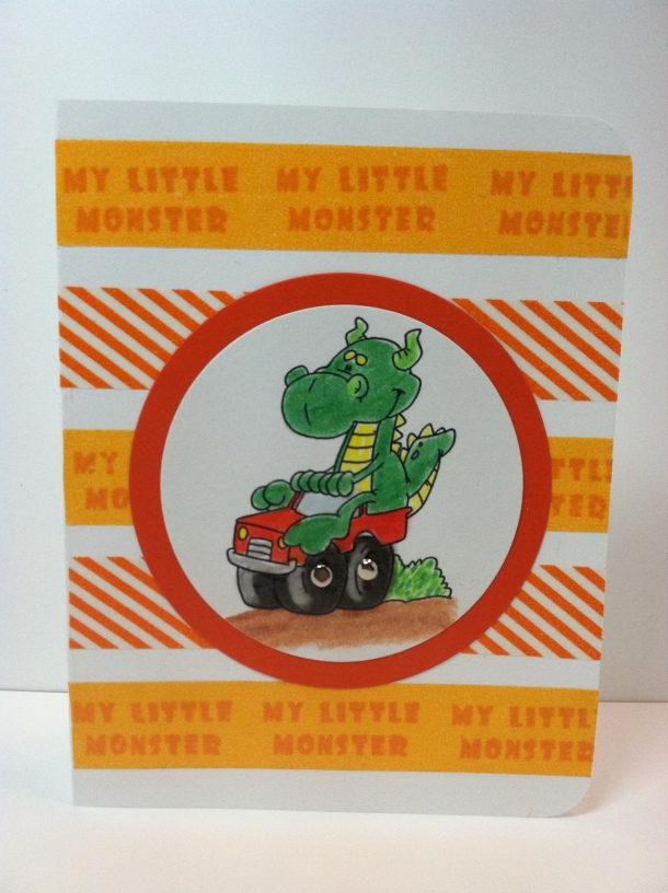Dustin Pike Dragon card