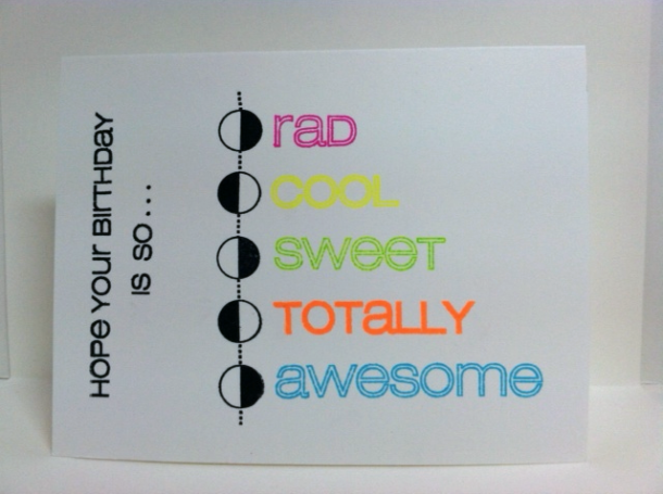 casual fridays rad stamp set