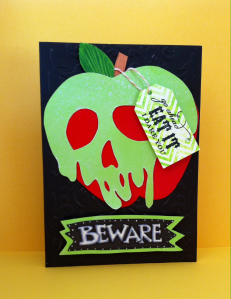 poison apple card