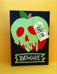 poison apple card