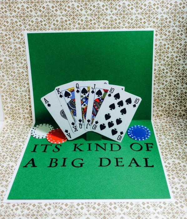 Poker birthday card – Poker Birthday Cards