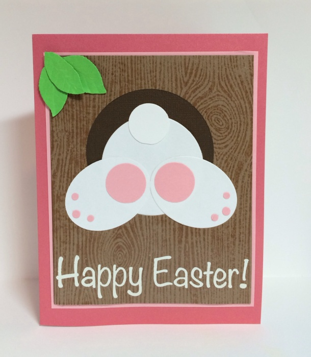 Easter Bunny Punch Card