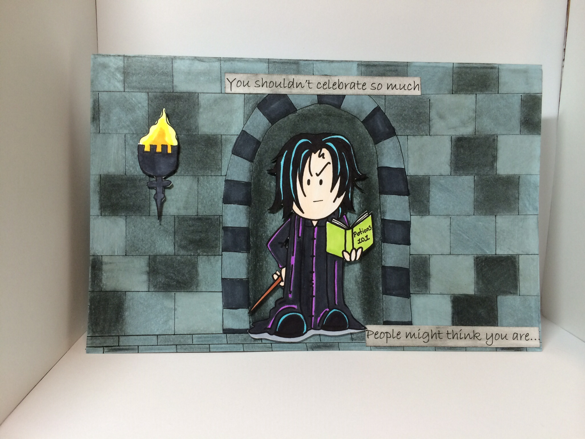 Harry Potter birthday card – Harry Potter Birthday Card