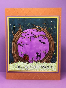 Stamping up Halloween