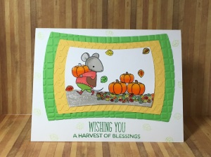 My favorite things stamps, MFT harvest mouse, by harvest mouse, harvest mouse stamp set